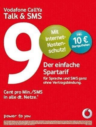 Callya Sim Karte.Vodafone Callya Simkarte Ohne Guthaben Aktiviert